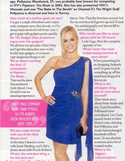 Saturday Magazine- 1st October 2011